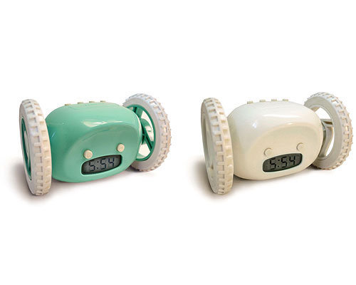 CLOCKY ALARM CLOCKS | Runaway Alarm Clock With Wheels | UncommonGoods