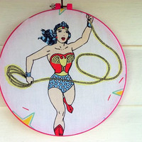 Wonder Woman Wall Hanging Art