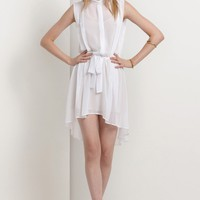 Elixer Sleeveless Dress / BLK / 6-12 / SS11