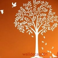 Vinyl Wall Decal Wall Sticker tree debals Tree by walldecals001