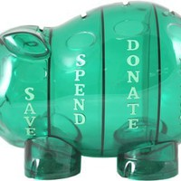 Money Savvy Pig - Green