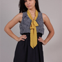 Striped Neckerchief Dress
