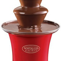 Nostalgia Electrics CFF300 Mini Chocolate Fountain