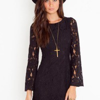 Bella Lace Dress - NASTY GAL