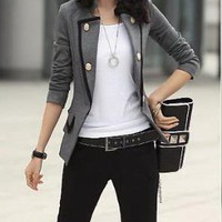 New Fashion Korean Style OL Slim Blazers : tidestore.com