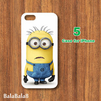 Despicable me --iPhone  4 case,iphone 5 Case,in durable plastic or rubber silicone case