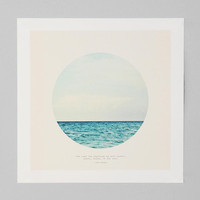Tina Crespo For Society6 Salt Water Cure Print