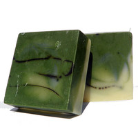 BasilMint Invigorating Aromatherapy Soap Enriched by RedandRio