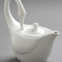 Swans Upon a Time Tea Pot | Mod Retro Vintage Kitchen | ModCloth.com