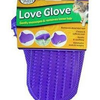 Love Glove Grooming Mitt for Cats