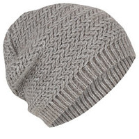 Two Tone Zig Zag Beanie
