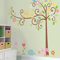 Scroll Tree MegaPack Peel & Stick Wall Decal, Wall Stickers, Art for Children