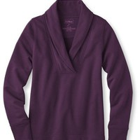 Shawl-Collar Pullover: Fleece Tops and Sweatshirts at L.L.Bean