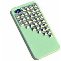 Amazon.com: Fashion Punk Studs and Spikes Mobile Phone Case for iPhone 4/4S DIY Studs Case: Cell Phones & Accessories