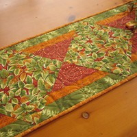Leaves Of Fall Table Runner on Luulla