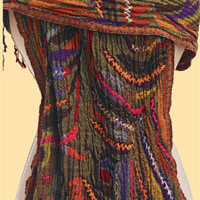 Signals - BEADED EMBROIDERED WRAP
