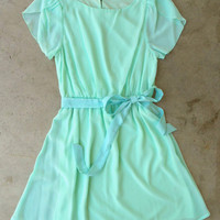 Sweet Mint Tulip Dress [3596] - $36.00 : Vintage Inspired Clothing &amp; Affordable Fall Frocks, deloom | Modern. Vintage. Crafted.