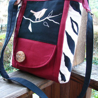 SALE /CHANGING SEASONS /handbag /diaper bag /tote /cranberry/travel bag /school bag /purse /key clip/10% off when purchasing any 2 bags