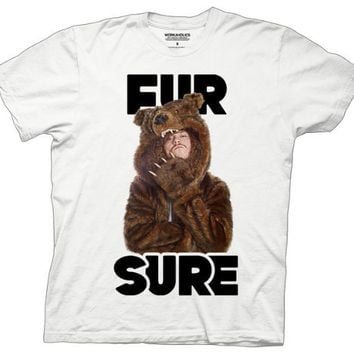 T-Shirt - Workaholics - Fur Sure