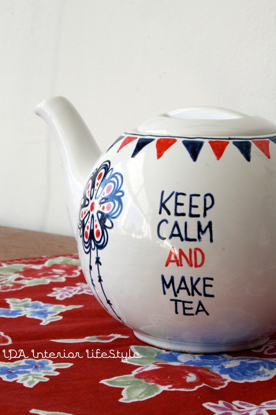 Keep Calm and make teateapot by idalifestyle on Etsy