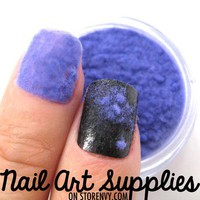 nailartsupplies | Purple Sweater Nails - Furry Velvet Flocking Nail Art Powder Mix | Online Store Powered by Storenvy