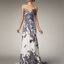 Naeem Khan - Strapless Paisley Jacquard Gown - Bergdorf Goodman