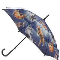 Fur Weather Friend Umbrella | Mod Retro Vintage Umbrellas | ModCloth.com