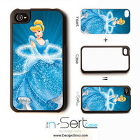 NEW Cinderella n-Sert iPhone 4, 4s, 5 Case with Changeable Inserts