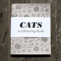 Cats - A Colouring Book