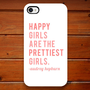 Plastic iPhone Case - I Believe in Pink - Audrey Hepburn Quote - iPhone 4/4s - iPhone 5