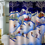 DENY Designs Home Accessories | Renie Britenbucher Winter Skiing Fun Shower Curtain