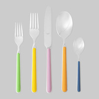 Multicolor 5-piece Flatware Set