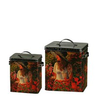 Winward Set of 2 Garden Canisters at MYHABIT