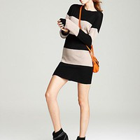 Aqua Cashmere Tunic - Stripe | Bloomingdale&#x27;s