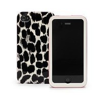 Kate Spade Leopard Case for iPhone 4: Cell Phones & Accessories