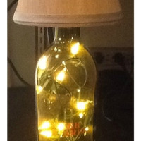Eco friendly Wine Lamps or Night Lights