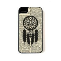 iPhone 4 Case - Hardshell Protective iPhone 4/4s Case - Dreamcatcher On Dictionary: Cell Phones & Accessories