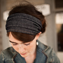 Fall Tour in Soft Denim - Garlands of Grace Something special headband 2012