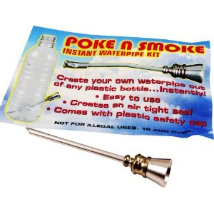 Poke n' Smoke - Instant Water Pipe Kit: Everything Else
