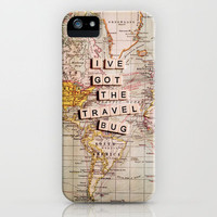 I've got the travel bug iPhone Case by Sylvia Cook Photography | Society6