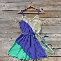 Aglow Sequin Party Dress in Twilight, Sweet Women's Country Clothing