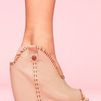 Kelsey Platform Wedge - NASTY GAL