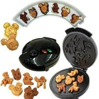 Amazon.com: Disney Mickey &Gang 5 in 1 Tasty Baker Waffle Maker,Bakes Pancake,Muffins, breads, cakes, and brownies: Kitchen & Dining