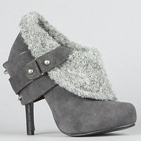The Purr Shoe in Gray : Naughty Monkey : Karmaloop.com