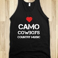 camo, cowboys, and country music - Flirty Falcon