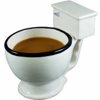 Amazon.com: Big Mouth Toys Toilet Mug: Kitchen &amp; Dining