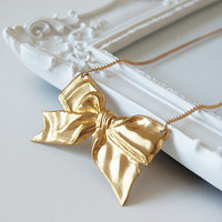 golden silk necklace by maria allen jewellery | notonthehighstreet.com