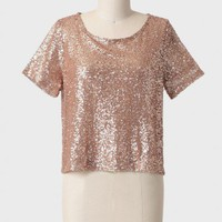 evening angel sequined top at ShopRuche.com