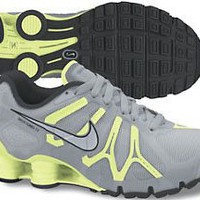 Amazon.com: Womens Nike Shox Turbo+ 13 Running Shoes Wolf Grey / Barely Volt / Anthracite 525156-002: Shoes