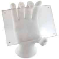 Made By Humans, Hand Photo Holder, 4x6 Photo Frame, White